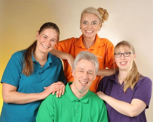 Das Team von Kinder -und Jugendarzt Helge Böhm